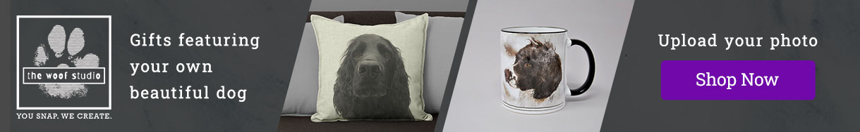 Banner for The Woof Studio personalised gifts for dog owners